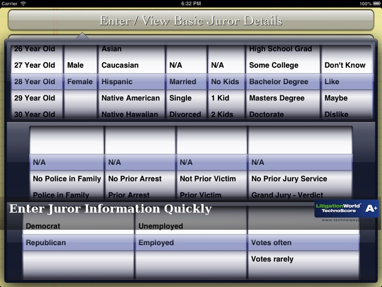 iJuror screenshot-3