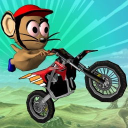 MOTO MOUSE STUNT MANIA - DIRT BIK RACING GAME