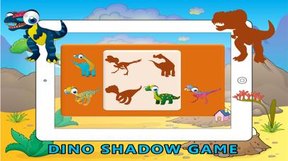 Learn ABC Dinosaur Shadow Puzzle - Flash Card Game screenshot four