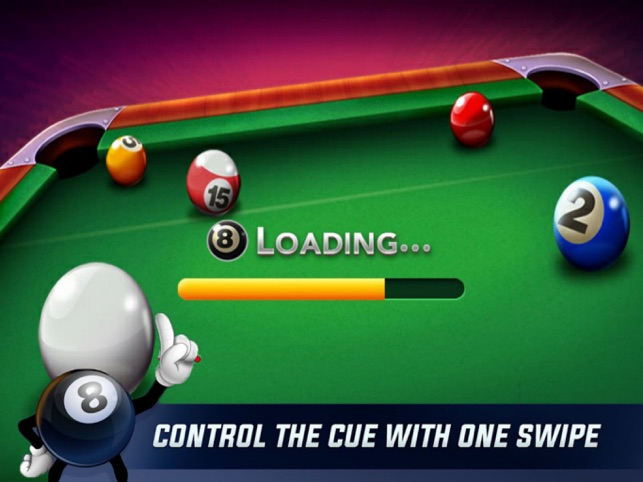 Billiards 8 Ball Plus, game for IOS