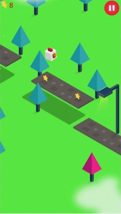 Trumpo Jumpy Cross The Road Rider Go 2K16 Screenshot