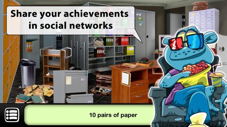 Hidden Objects: Zombies Escape screenshot-0