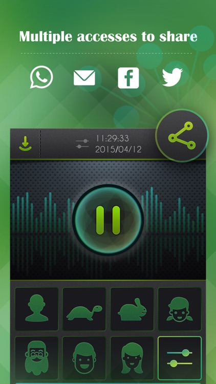 Voice Changer, Sound Recorder screenshot-3