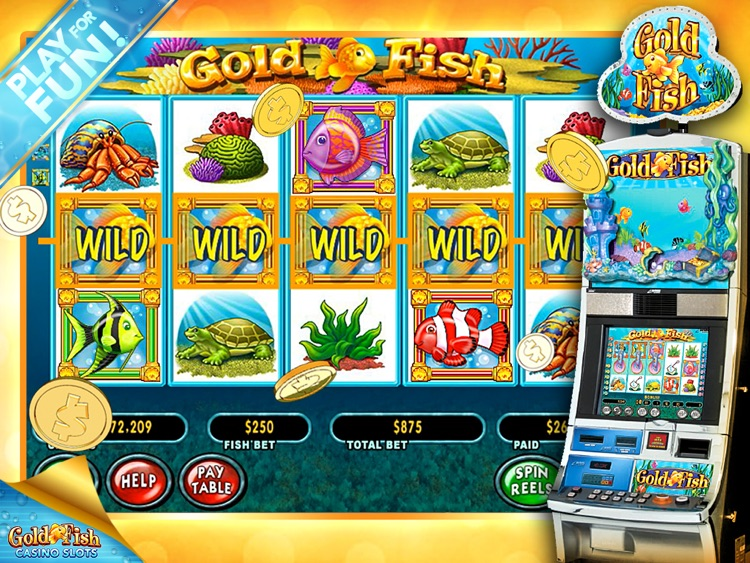 Gold Fish Slots Casino HD screenshot-2