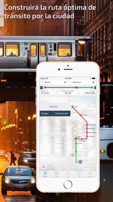 Washington DC Guía de Metro con mapa offlineCaptura de pantalla de2