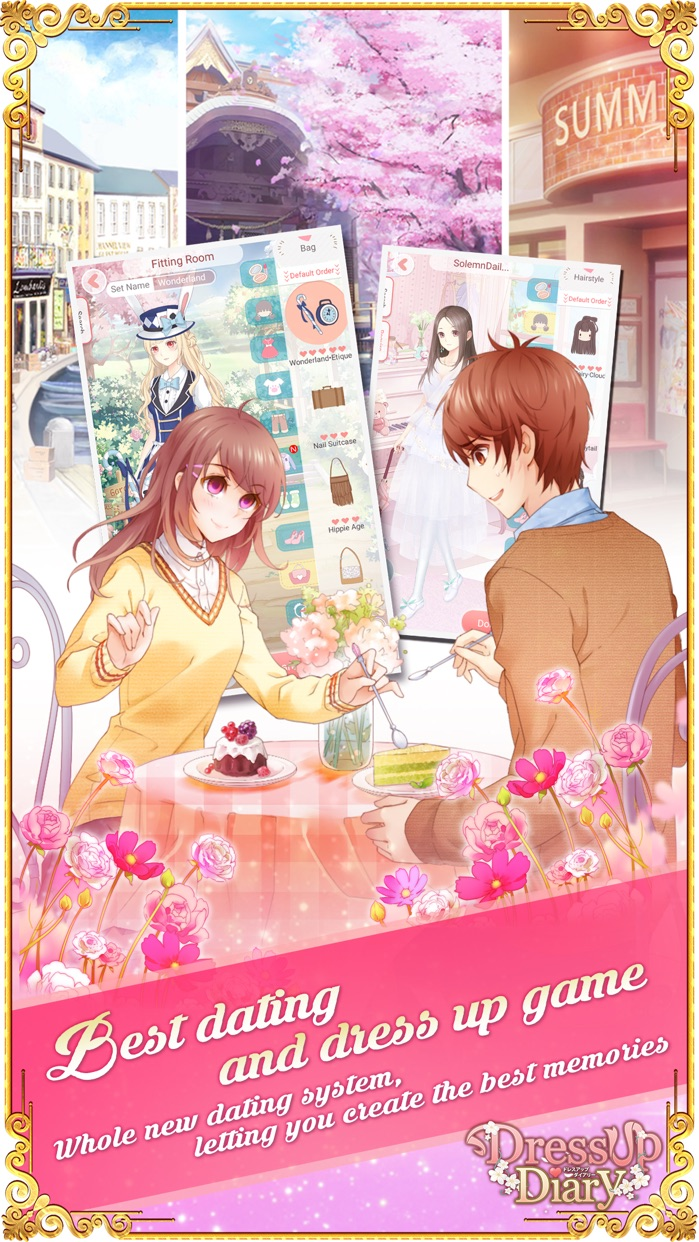 Dress Up Diary: True Love Screenshot