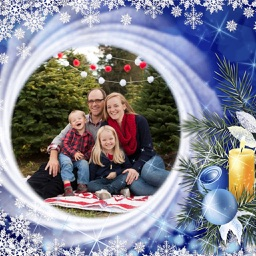 Christmas Special HD Photo Frame - Frame editor