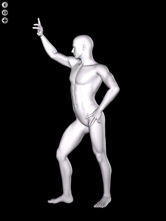 360 Anatomy for Artists HD: Male Figureのおすすめ画像2