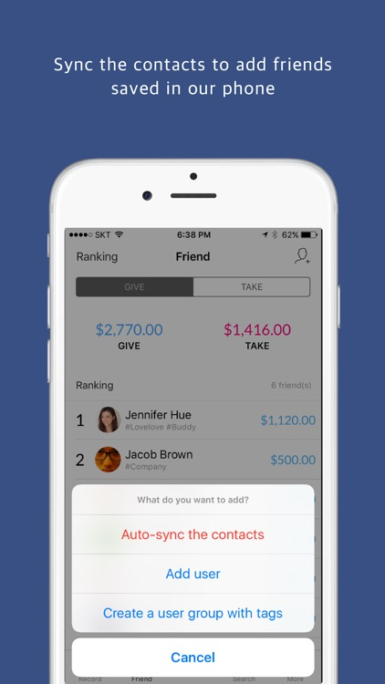 Give & Take Pro - Personal Money & Gift Manager screenshot-3