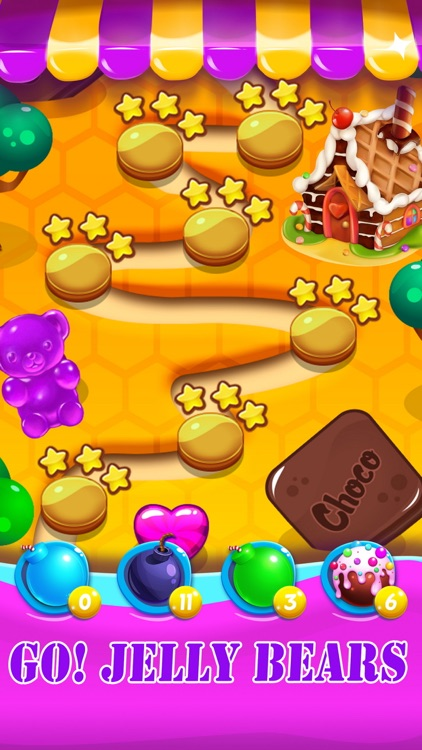 Candy Jelly Bears - For match 3 sweet bear puzzle screenshot-4