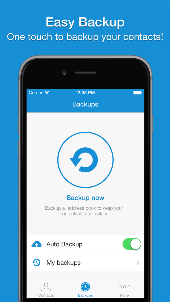 Easy Backup Pro . Screenshot