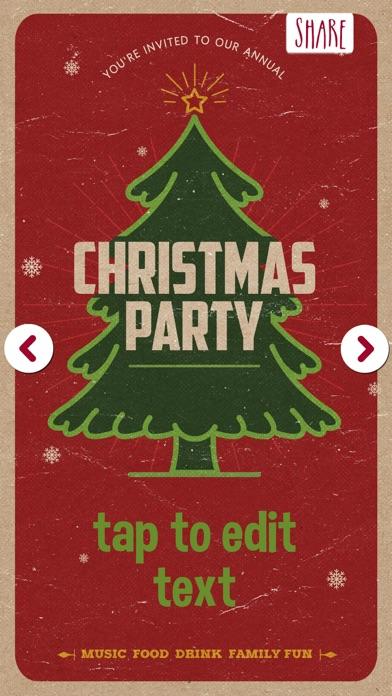 点击获取Christmas Invitations Pro – Merry Xmas Cards Maker