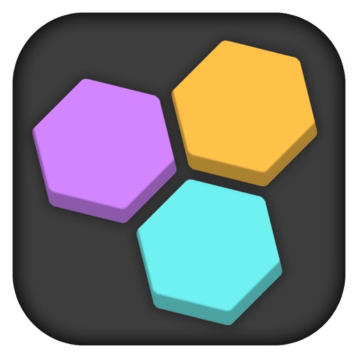 Fit In The Hole - Color Hexagon Block Crush Puzzle iOS App