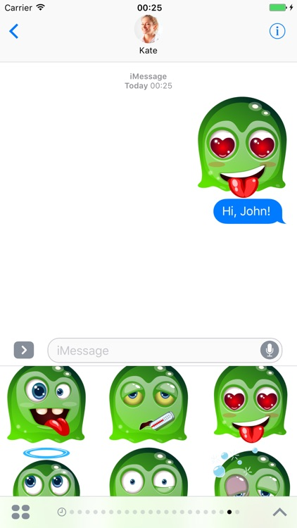 Ghost - Stickers for iMessage