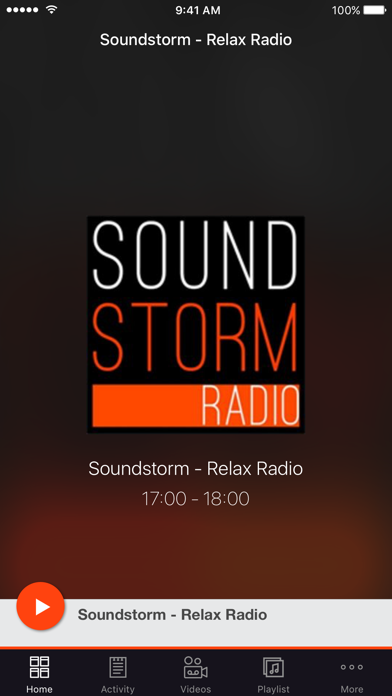 Soundstorm - Relax Radio screenshot one