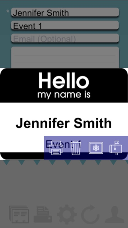 Name Badge Event Management