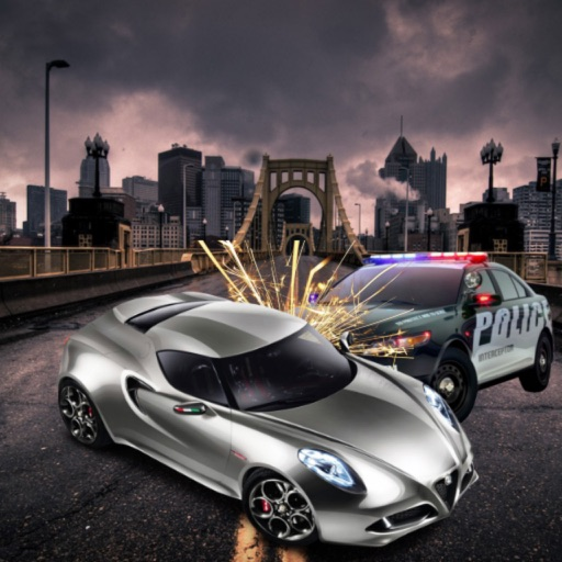 Police Cars vs Furious Racer 3D: Real City Rush