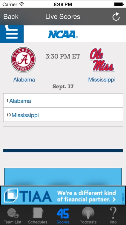 College Football Radio & Live Scores + Highlights screenshot-4