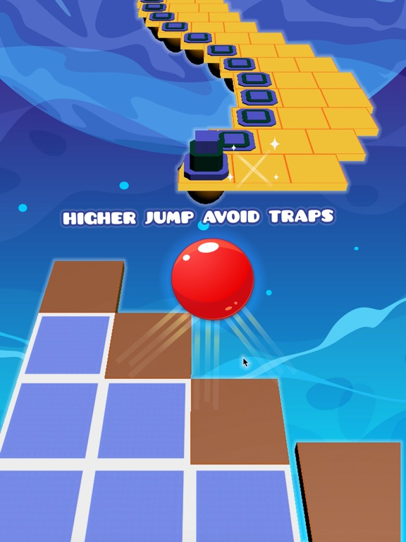 Red Ball Tower - Tap To Jump Endless Game-ipad-1