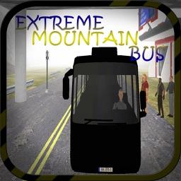 Adrenaline rush of dangerous mountain bus driving