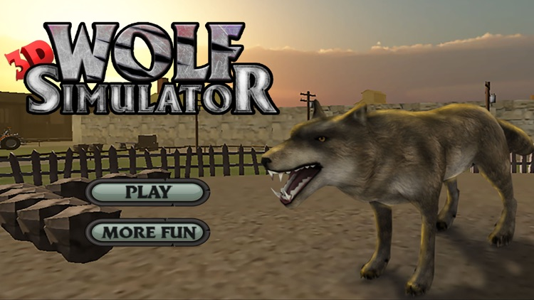 Wolf Simulator Arctic Wolves screenshot-0