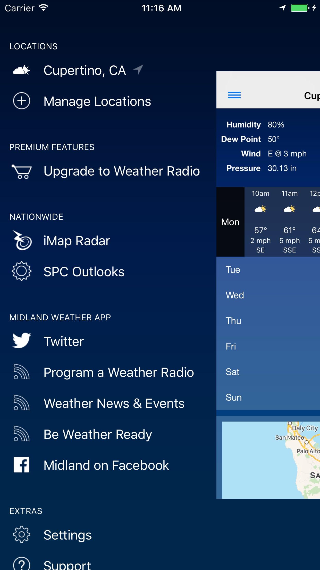 The Weather Center Screenshot
