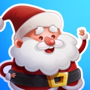 Kind Santa Claus – Christmas stickers for iMessage