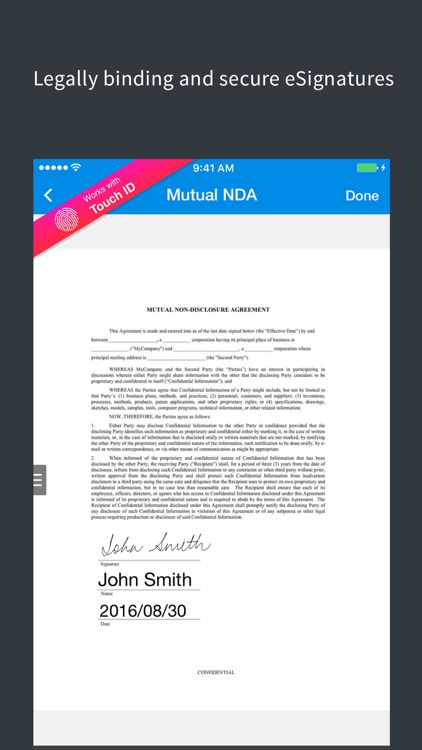 SignEasy - Sign and Fill PDF and other Documents