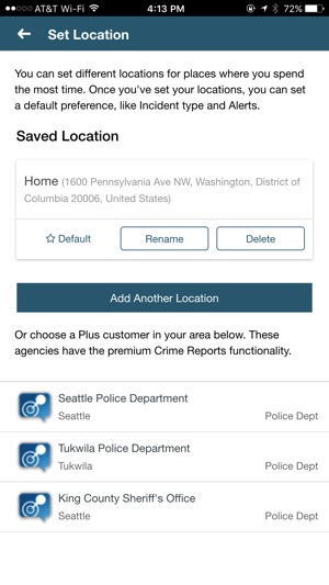 CrimeReports by Motorola Powered by Socrata on the App Store