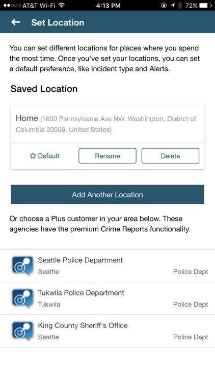 CrimeReports by Motorola Powered by Socrata screenshot-4