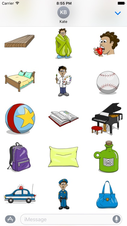 Stickertoons Life – Useful stickers for iMessage screenshot-3