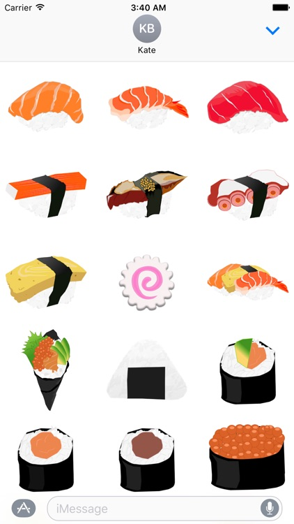 Sushi Love Sticker Pack