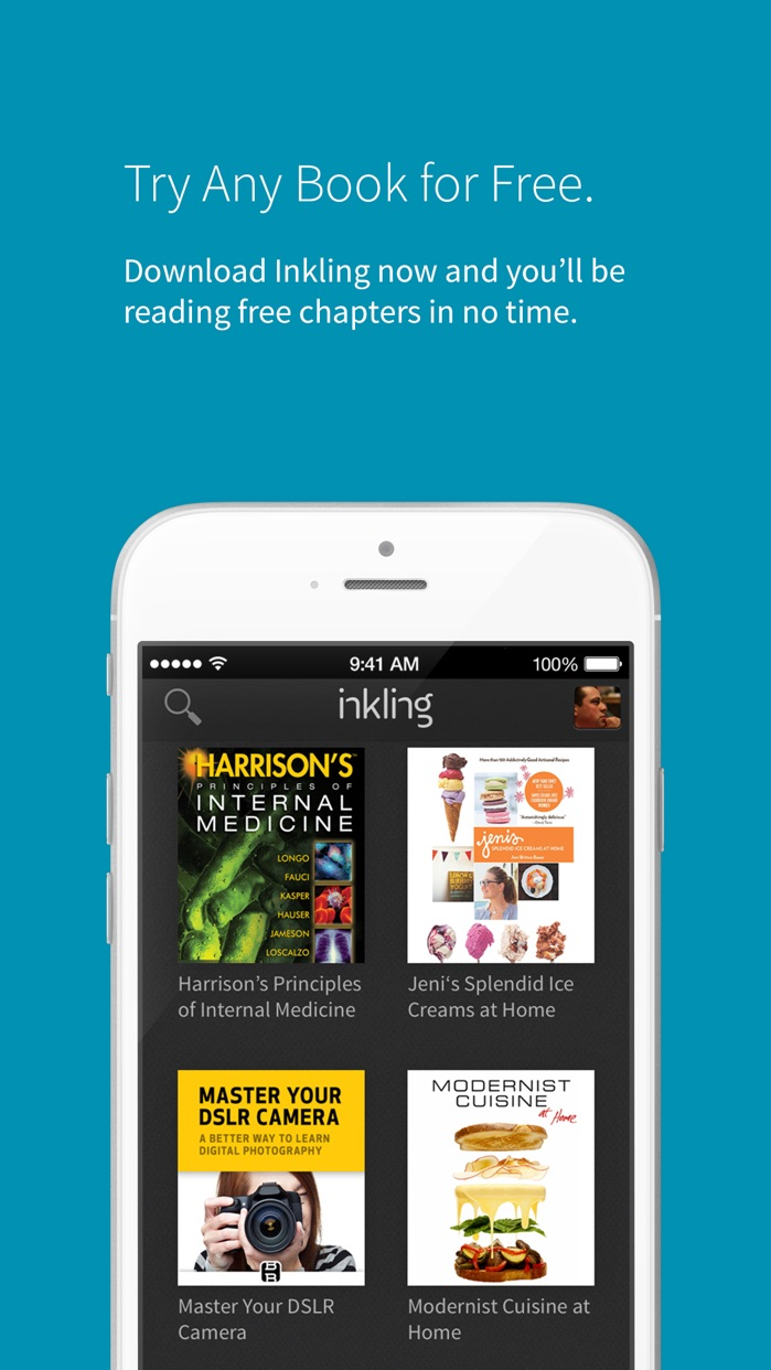 eBooks by Inkling Screenshot