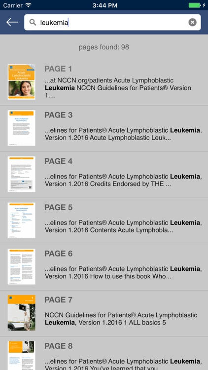 NCCN Patient Guides for Cancer screenshot-4