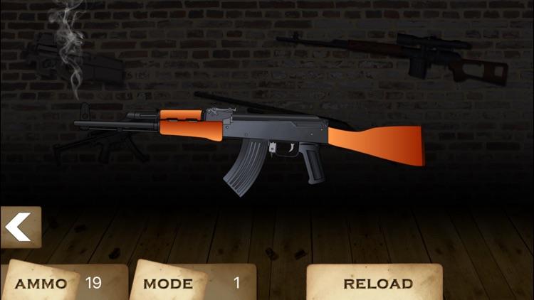 GUN CENTER Ultimate Gun Builder &Rifle Range Games screenshot-4