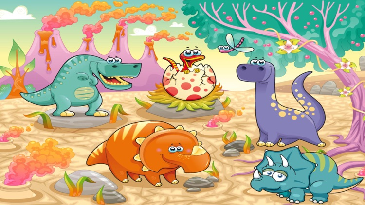 Dinopuzzle for kids and toddlers (Premium) screenshot-4