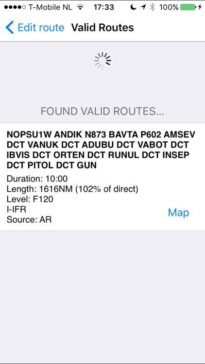 AeroPlus FlightPlan - VFR/IFR screenshot-1