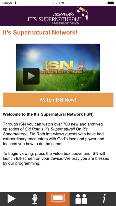 Sid Roth's It's Supernatural! Network screenshot two