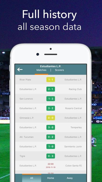 Primera Division - Live Football Statistics screenshot-4
