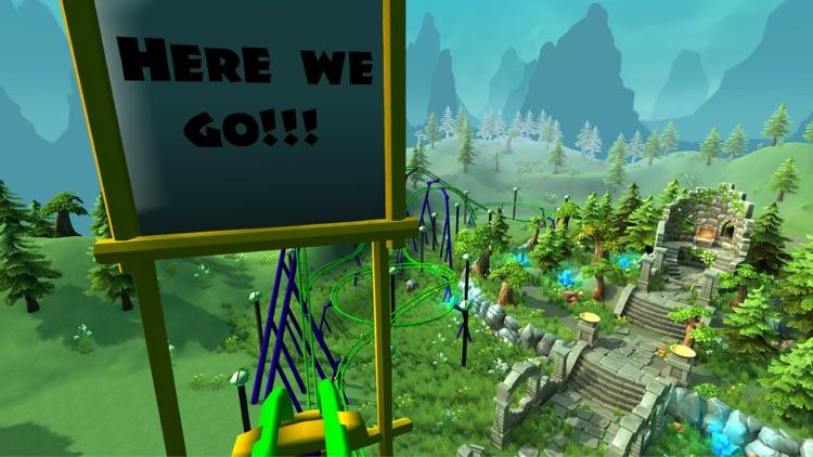 VR Roller Coaster Simulator - Cardboard Theme Park