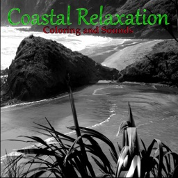 Adult Coloring Book - Coastal Relaxation