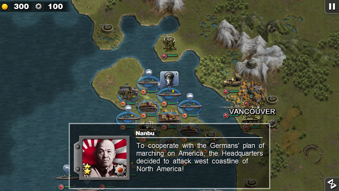 Glory of Generals: Pacific War - Online Game Hack and Cheat