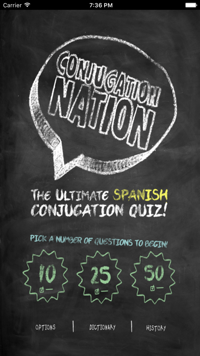 Conjugation Nation Spanish review screenshots