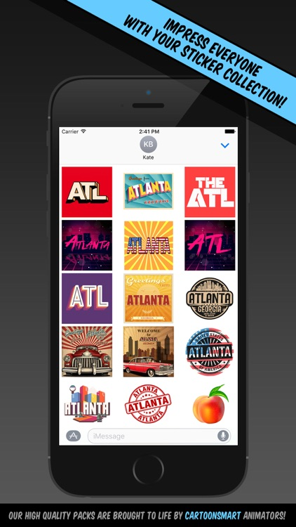 Atlanta Stickers screenshot-0