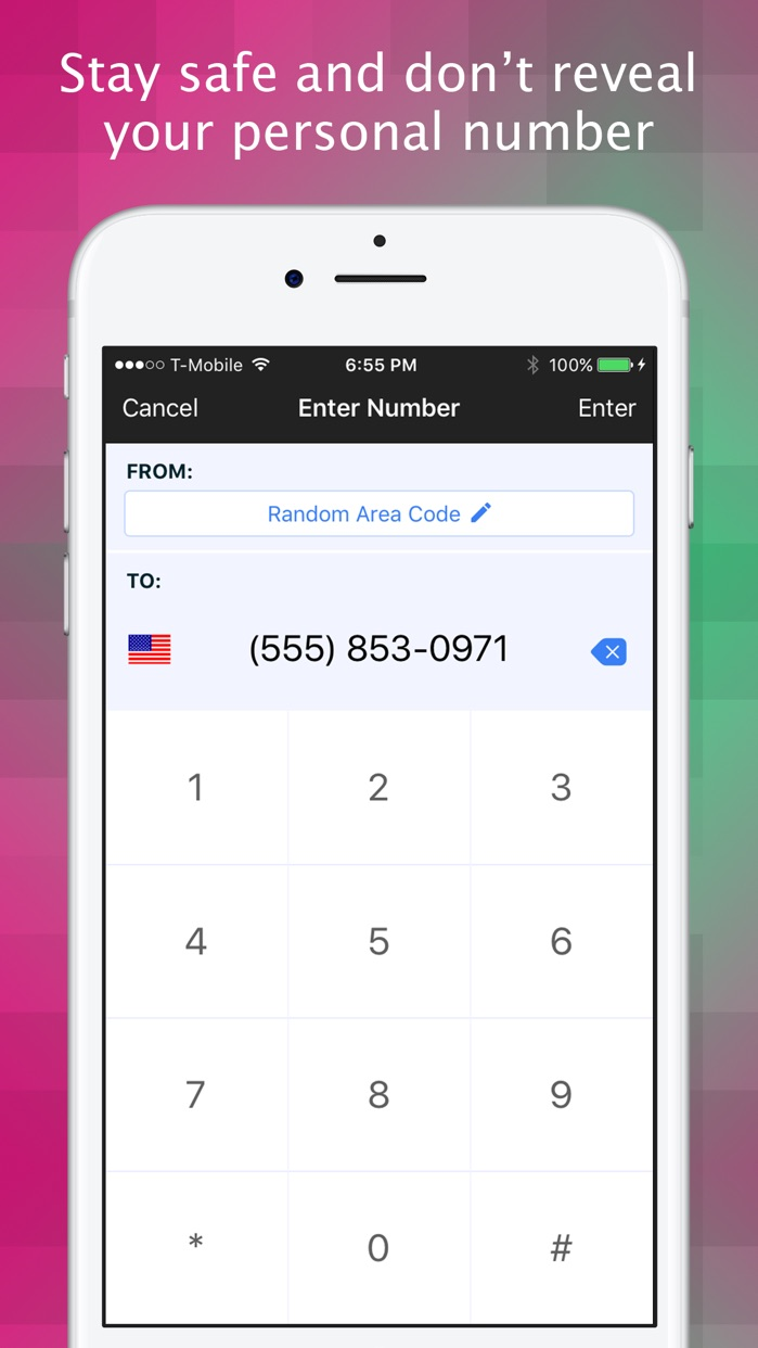 Texting Shield - Private Phone Number for Texting Screenshot