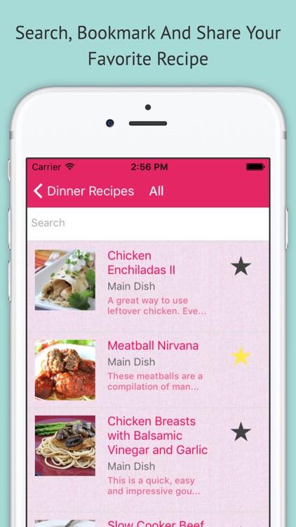 Dinner Recipes - Free Offline Recipes