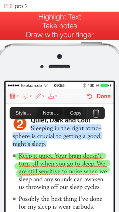 Screenshot for PDF Pro 2 – Die ultimative PDF App in Austria App Store