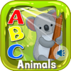 ABC Animals Flashcards Preschool English Learning