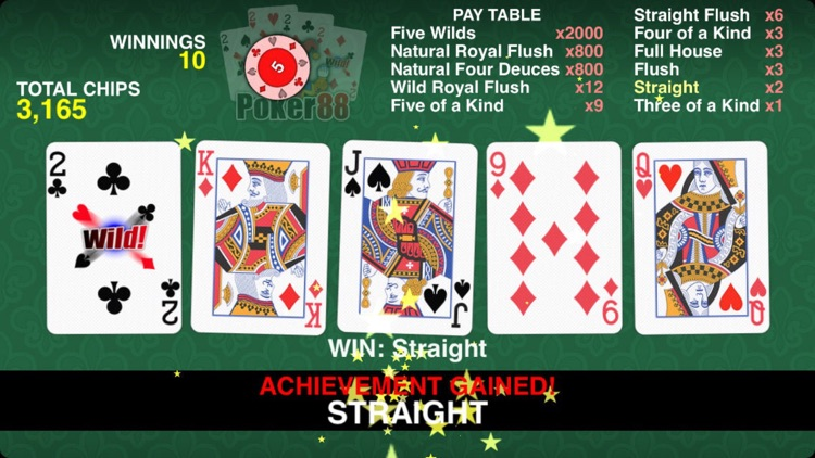Poker 88 - Deuces Wild screenshot-0