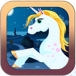 Unicorn Run - Jump And Attack